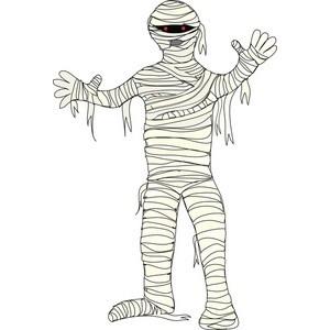 Mummy clipart 5
