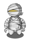 Mummy halloween clip art and graphics on 2