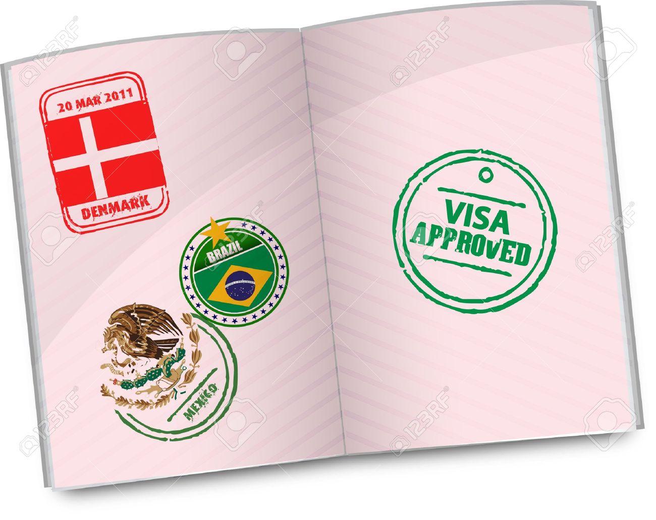 Passport clip art free clipart images