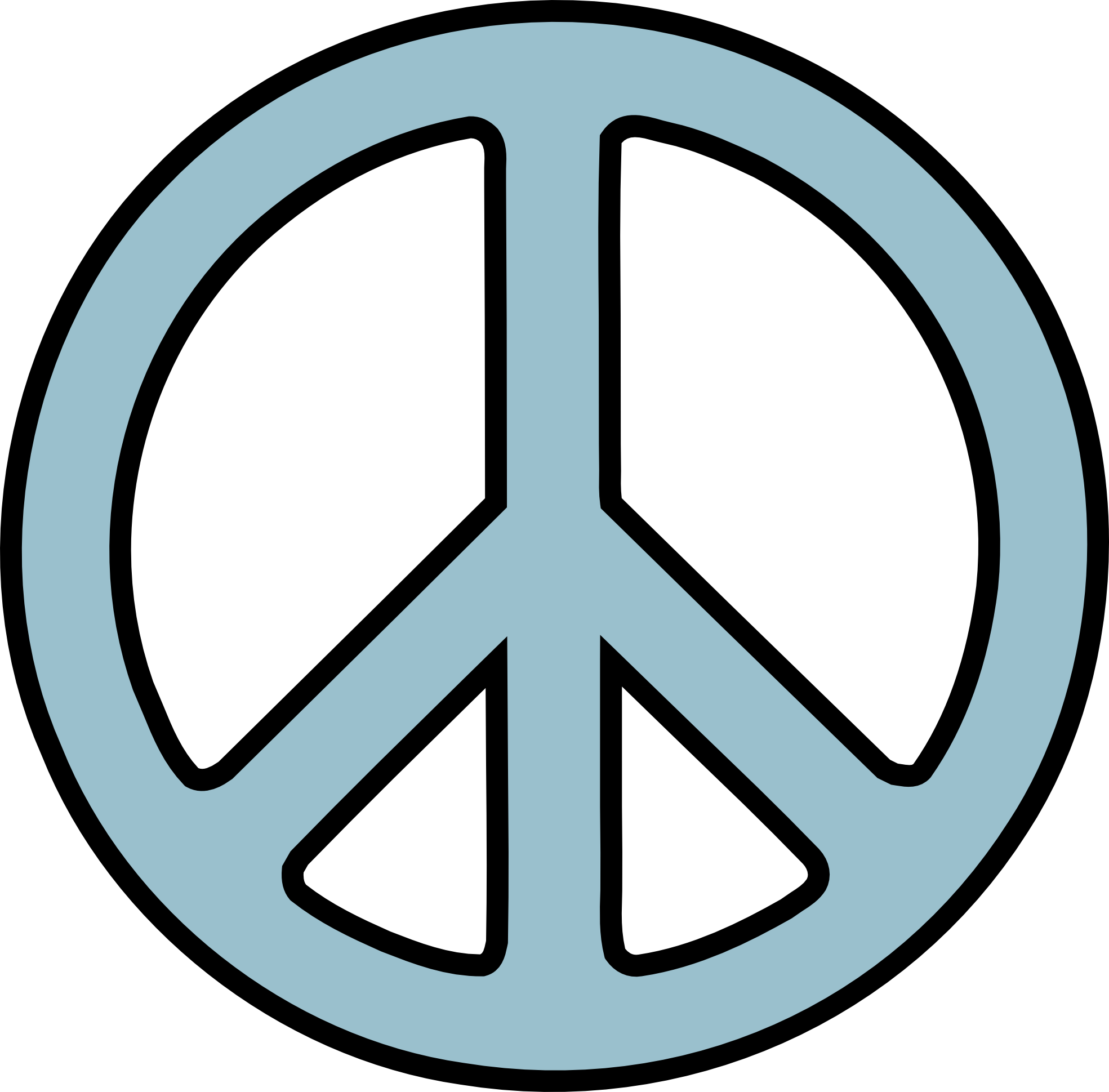 Peace sign clip art free clipart images 2