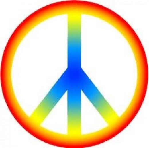 Peace sign clip art images clipart image 2
