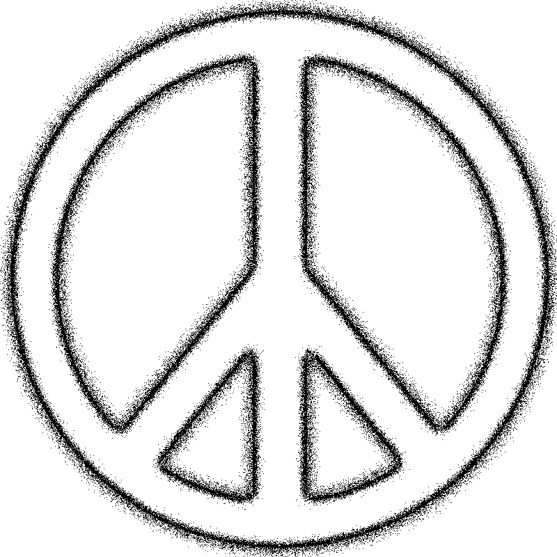 Peace sign clip art peace treaty