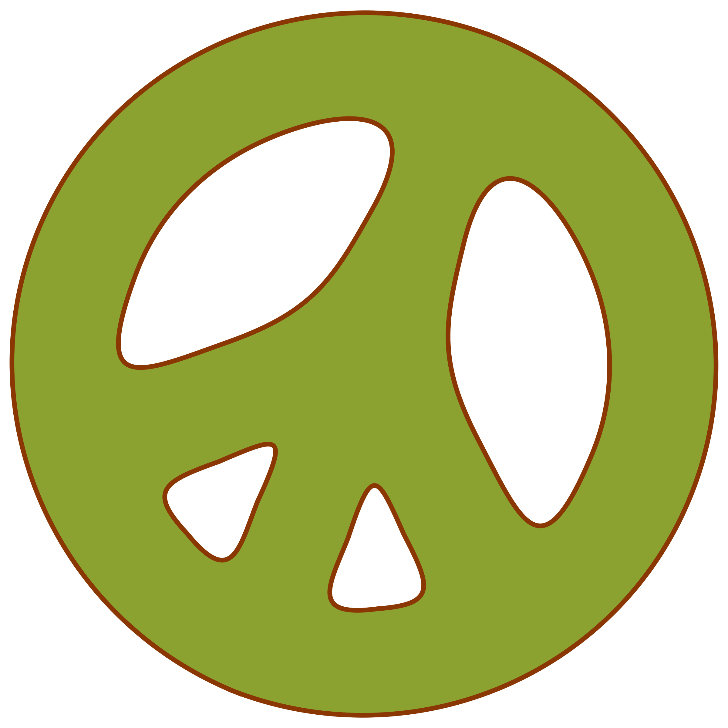 Peace sign clipart clipartmonk free clip art images