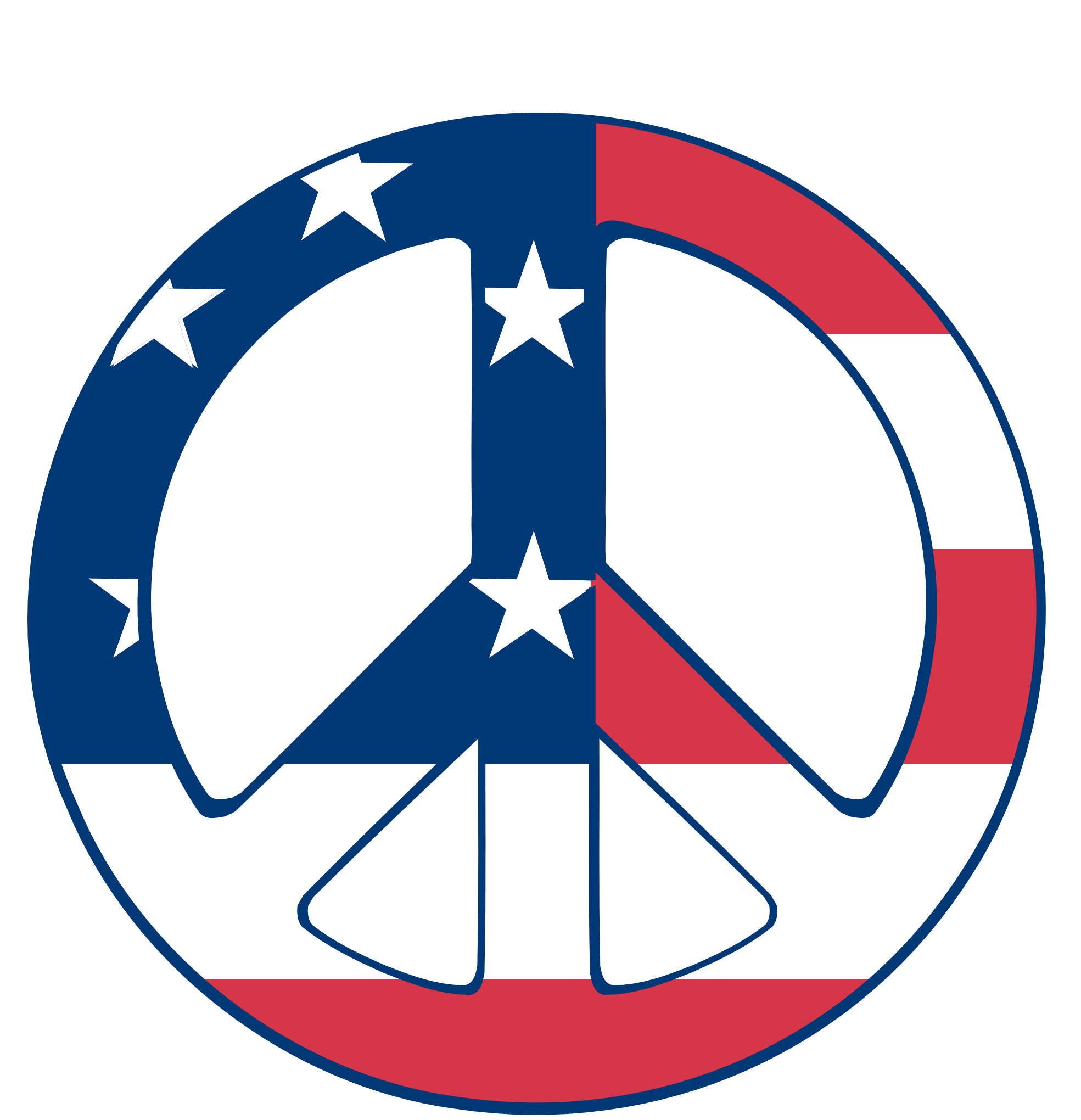 Peace sign clipart hostted