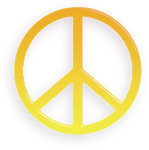 Peace sign free peace animations clipart s