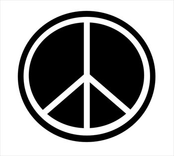 Peace sign free peace symbol clipart graphics images and