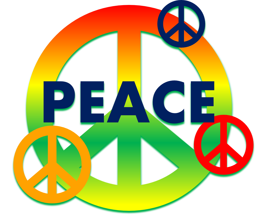 Peace sign penelope clipart