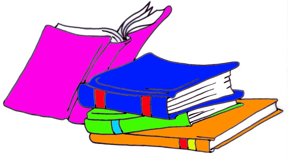 Stack of books clipart 2 clipart