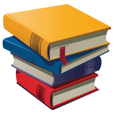 Stack of books clipart 4 2