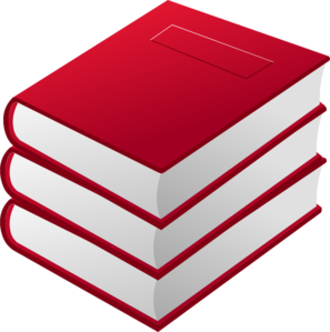 Stack of books clipart 5