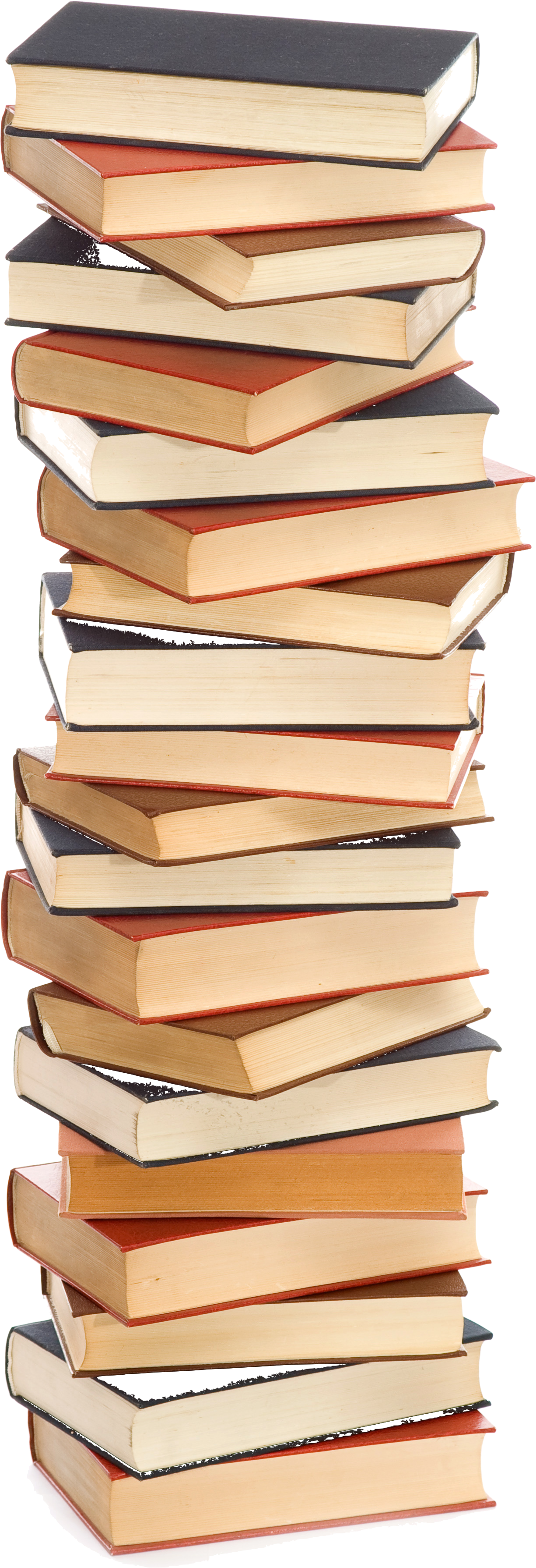 Stack of books clipart black and white free 5