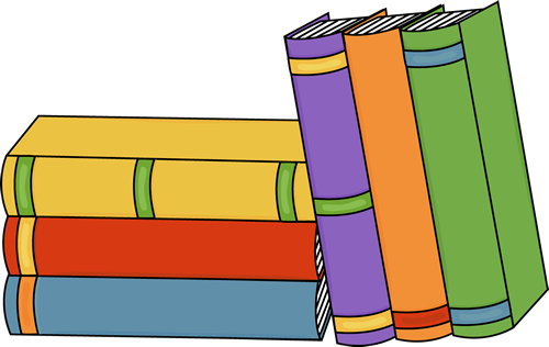 Stack of books clipart free images 4
