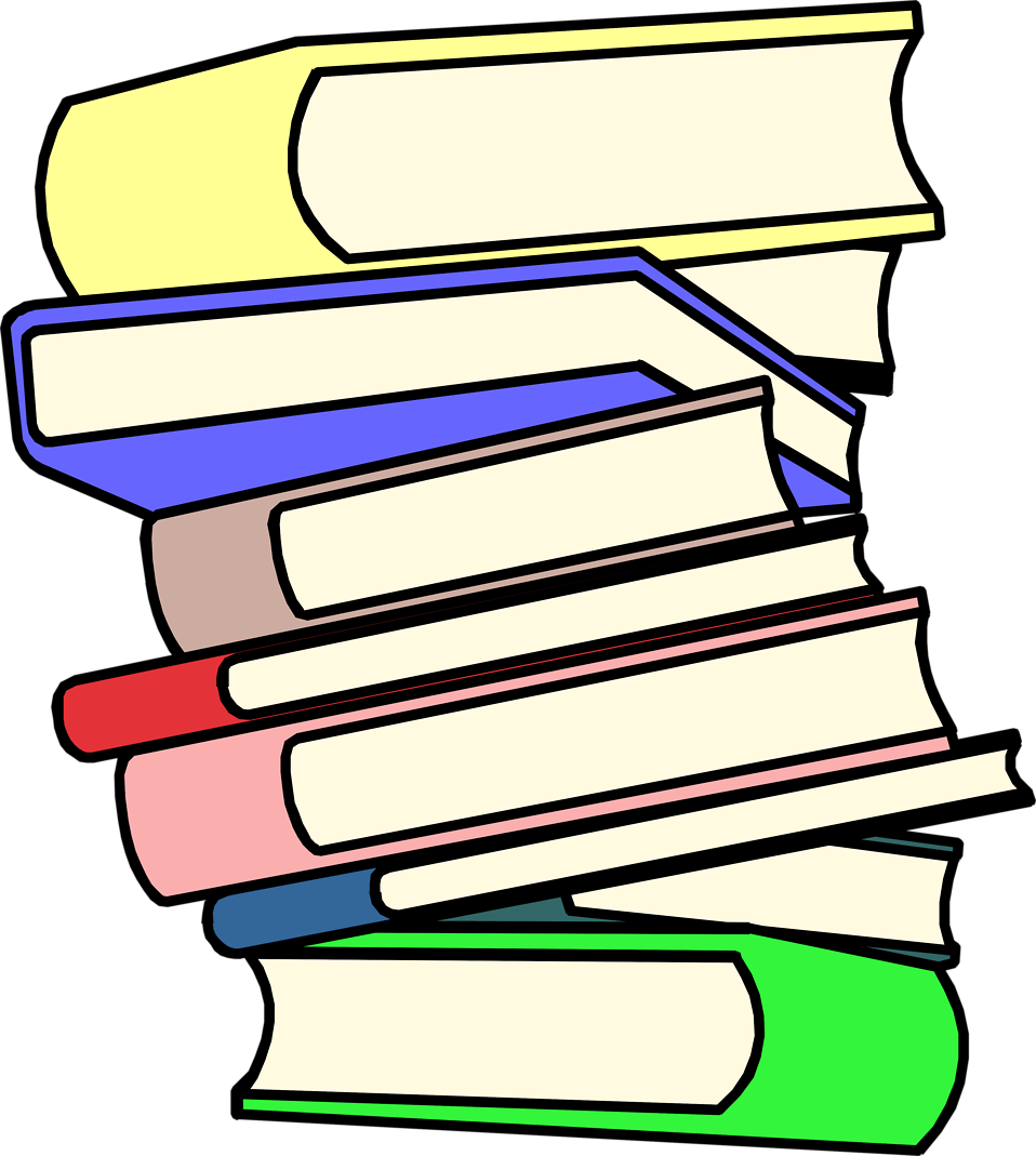 Stack of books image stack clipart school book clip art 3