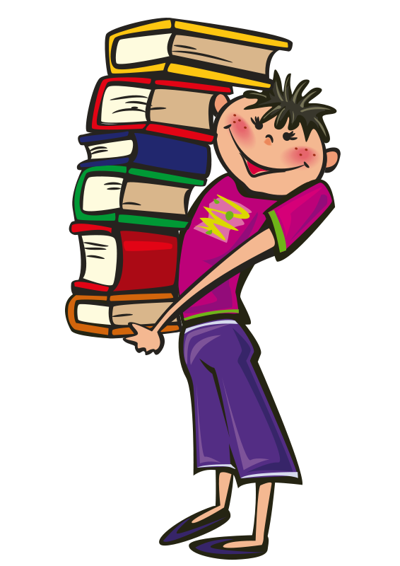 Stack of books image stack clipart school book clip art 7
