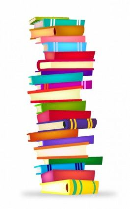 Stack of books image stack clipart school book clip art