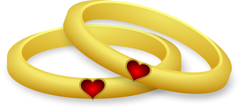 Wedding and engagement ring clipart free graphics 2