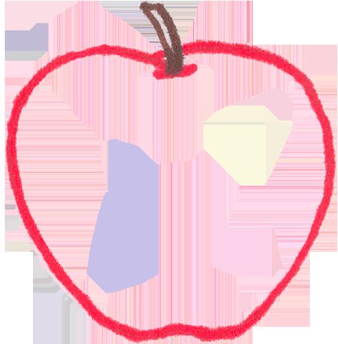 Apple border clip art 7