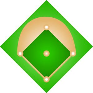 Baseball diamond baseball field clip art 11 clipart