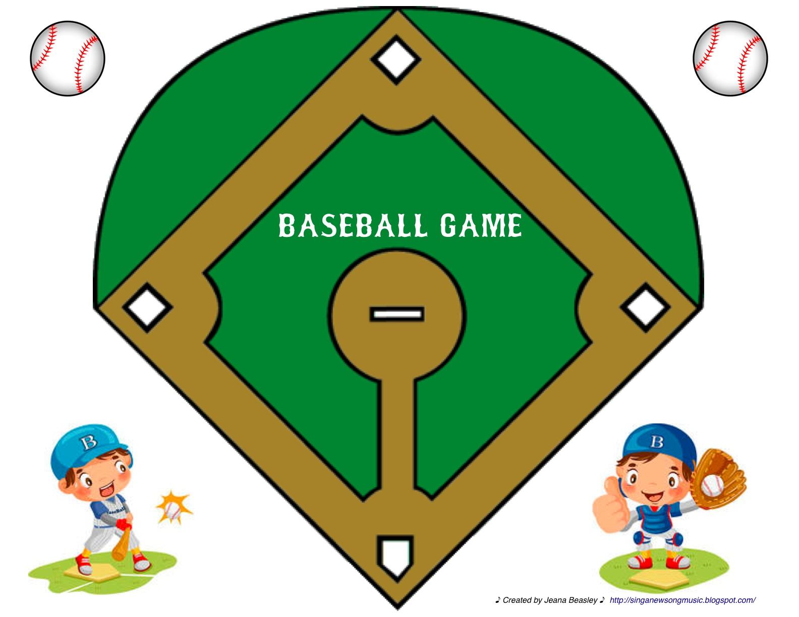 Baseball diamond baseball field clip art 2 clipart