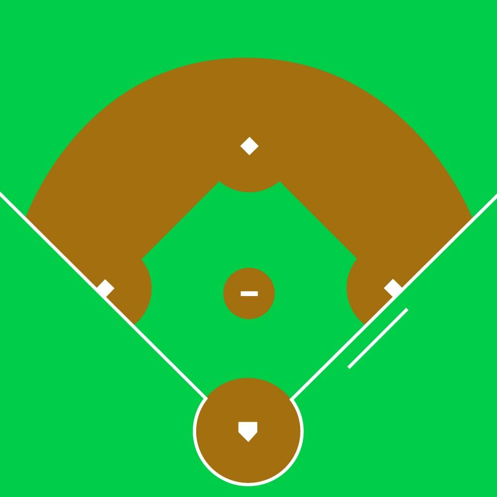 Baseball diamond baseball field clip art 4