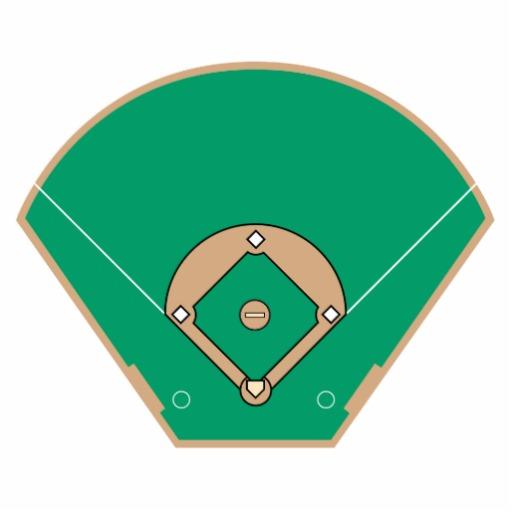 Baseball diamond baseball field clip art 7 clipart clipartbarn