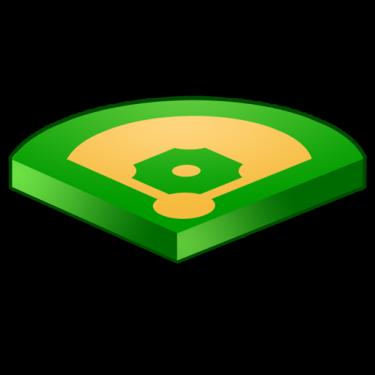 Baseball diamond baseball field clip art 8 clipart