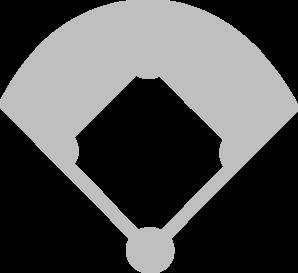 Baseball diamond baseball field clip art at vector clip art