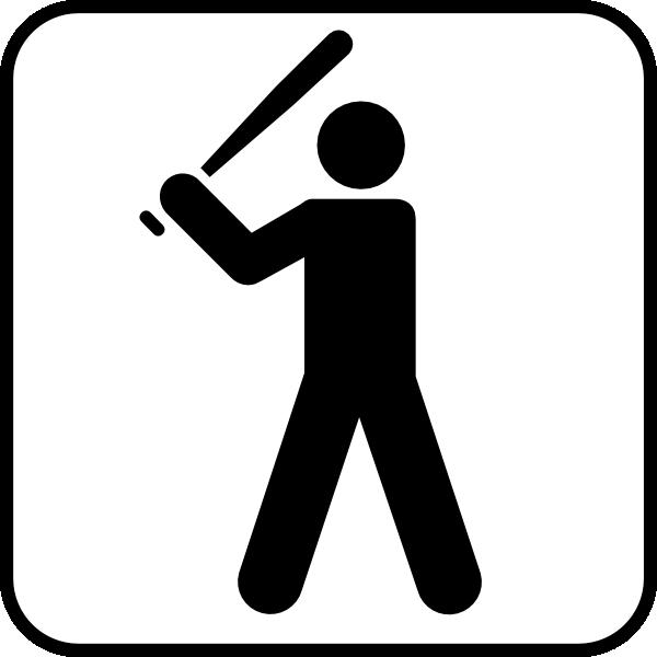 Baseball diamond baseball field clip art free vector 4vector