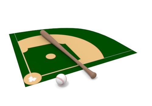 Baseball diamond baseball field clipart clipartbarn