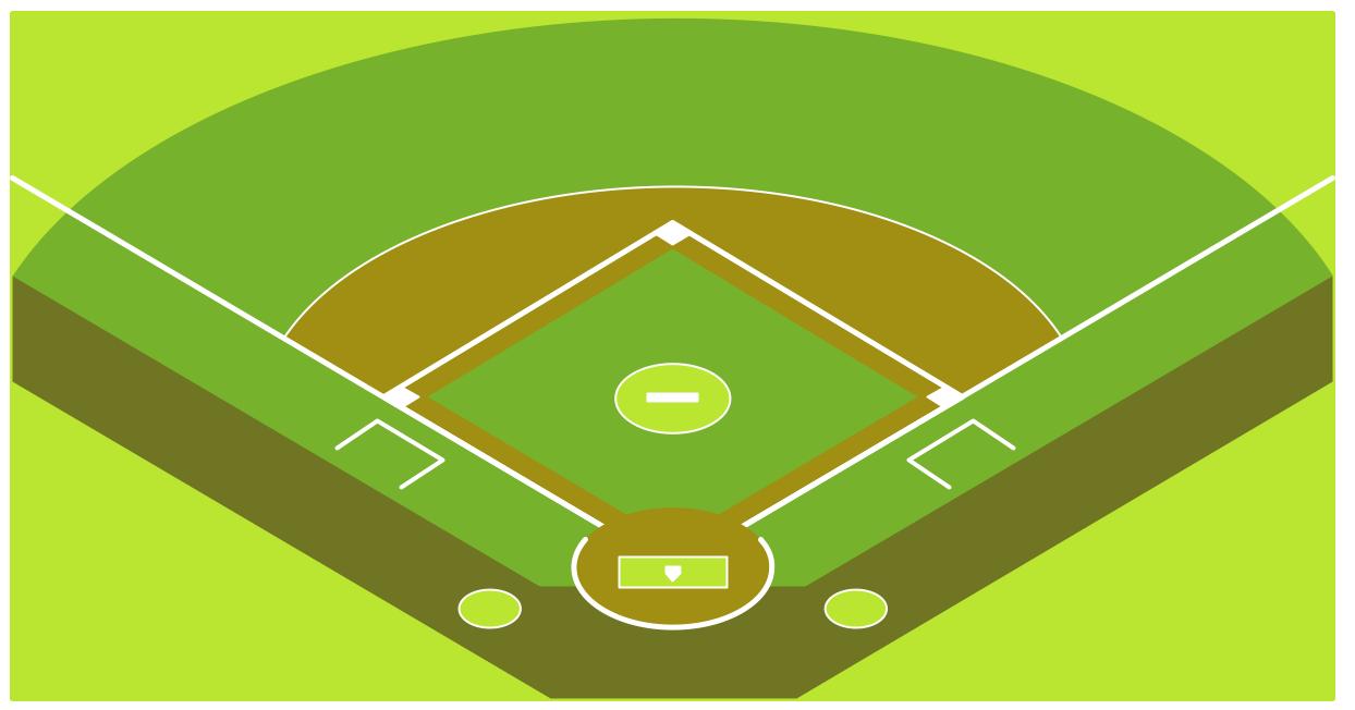 Baseball diamond baseball park clipart clipart