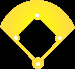 Baseball diamond clip art at vector clip art