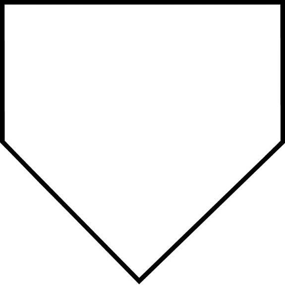 Baseball diamond printable clip art library