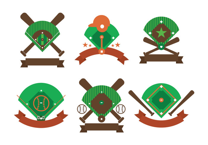Baseball diamond vector download free vector art stock graphics clipart