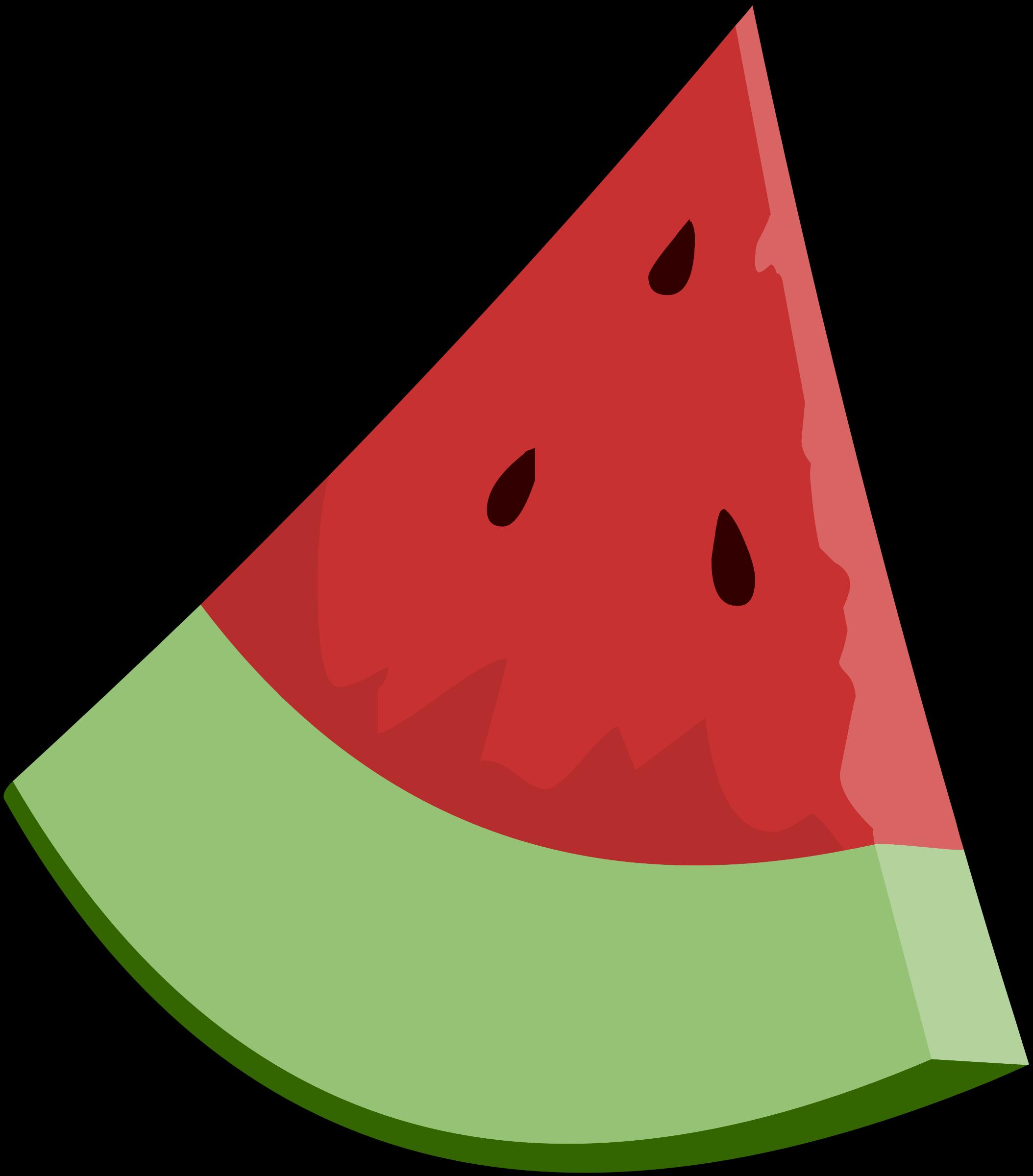 Clipart watermelon slice wedge