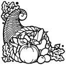 Cornucopia clip art free clipart images 7