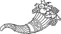 Cornucopia clip art library