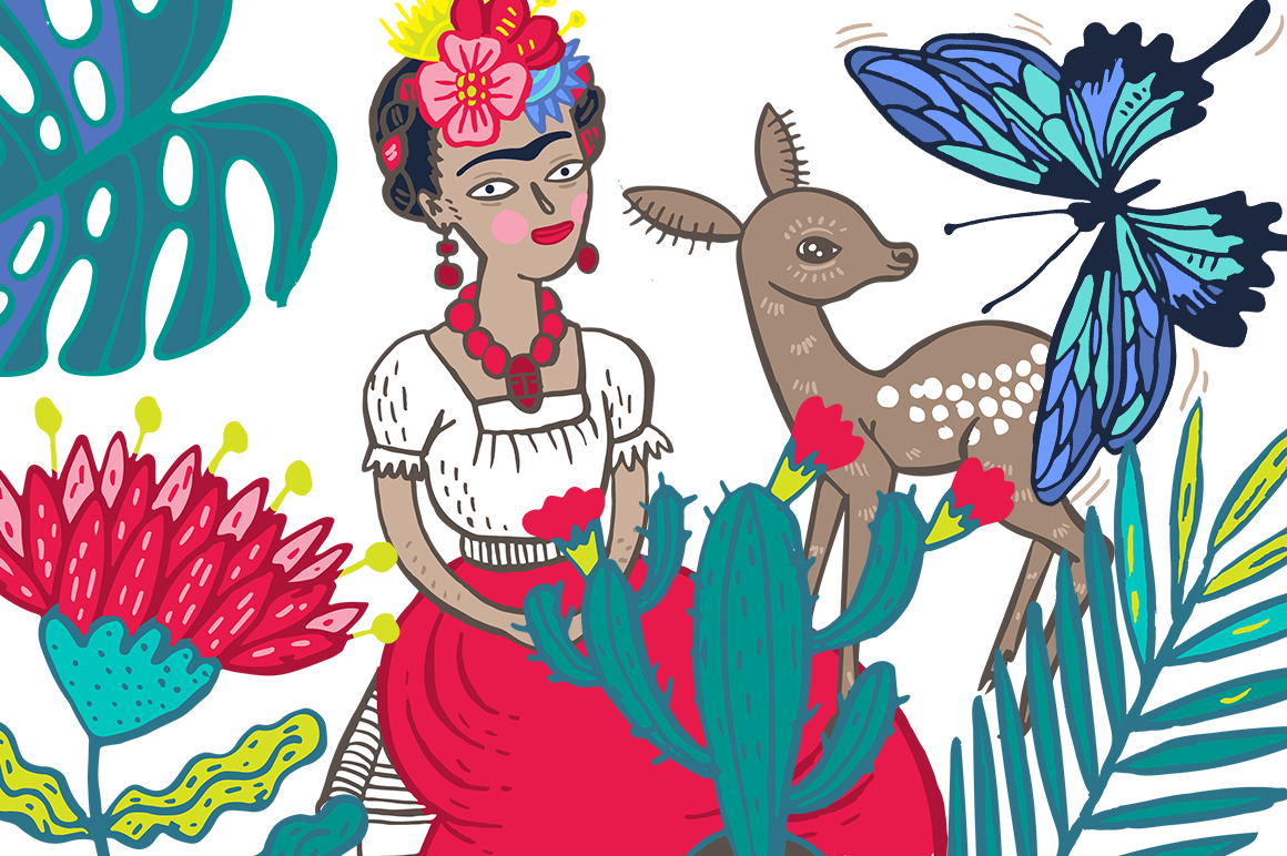Fiesta clip art and pattern collection on behance