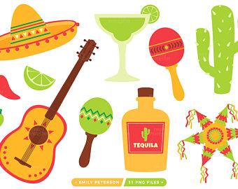 Fiesta clipart cinco de mayo mexican