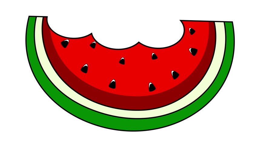 Graphics for watermelon slice clipart
