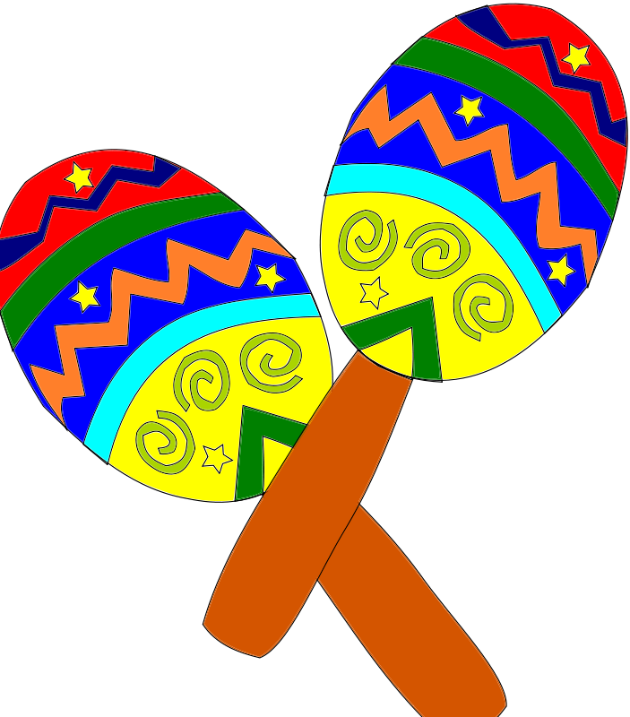 Mexican fiesta clipart 3