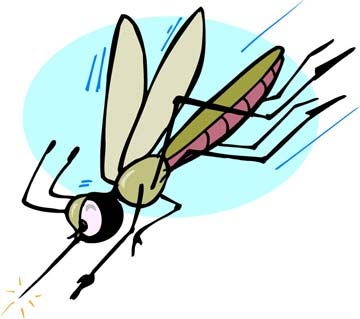 Mosquitoes clipart free here