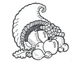 Pictures of cornucopia clip art library 2