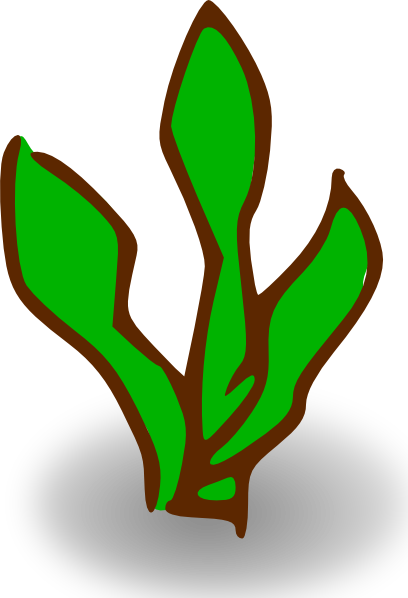 Seaweed game map symbols plant clip art at vector clip art