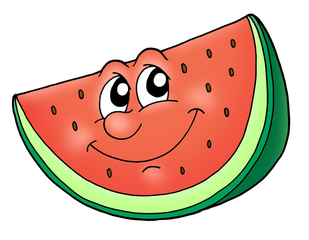 Seedless watermelon slice clipart id clipart pictures