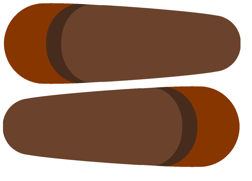 Turkey feather clip art 3