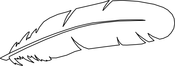 Turkey feather clip art 7