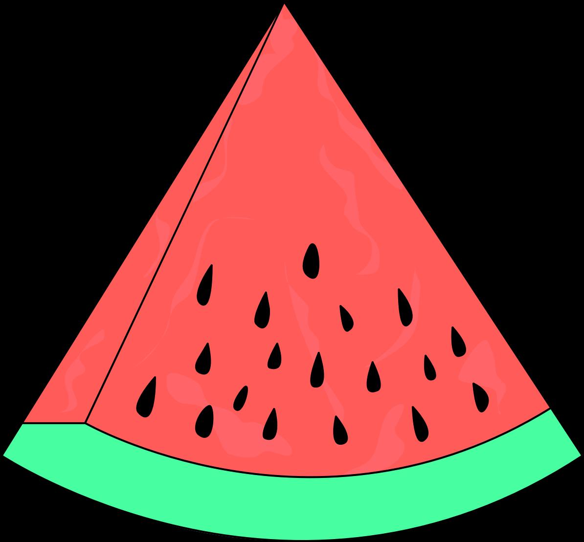 Watermelon slice clip art fruit
