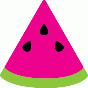 Watermelon slice clipart food drinks etc images on clip art