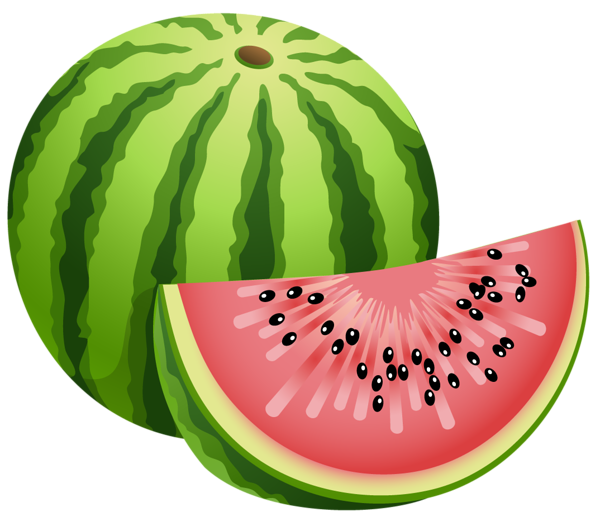 Watermelon slice clipart free images 2