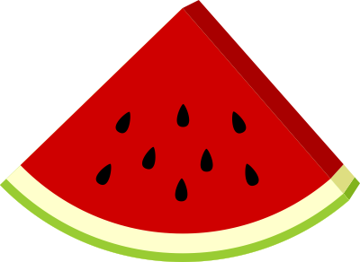 Watermelon slice clipart free images